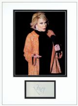 Joan Rivers Autograph Signed